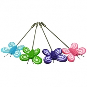 Agujetas para Bodas Color: verde, rosa, azul, morado Alfileres