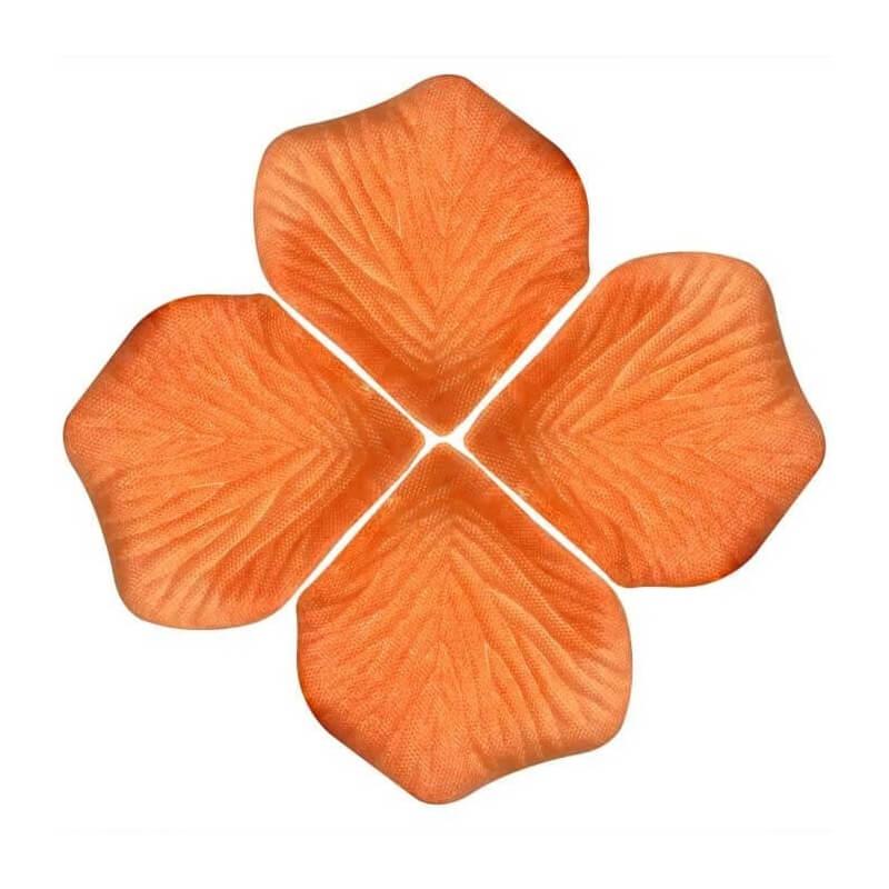 Pétalos Naranjas  Pétalos y cofetis para Bodas