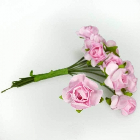 Pic de Flores  Flores de Papel y Broches para Bodas