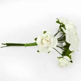 Flores Papel para Decorar Regalos  Flores de Papel y Broches