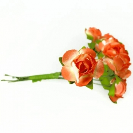 Flor de Papel para Regalo