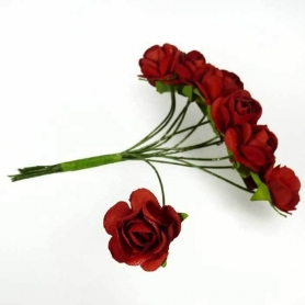 Adornos de Flores de Papel  Flores de Papel y Broches para