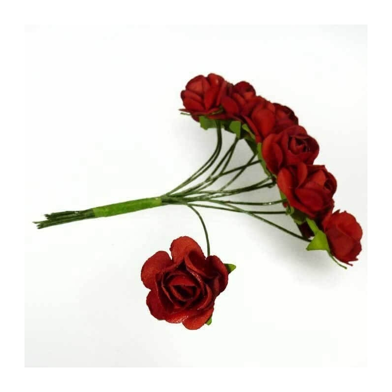 Adornos de Flores de Papel  Flores de Papel y Broches para Bodas