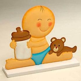 Figura Bebés  Figuras Tarta Bautizo Detalles Bautizo 4,11€