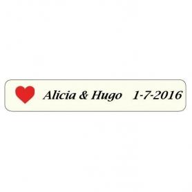 Pegatinas Corazones  Etiquetas Regalitos 0,05€