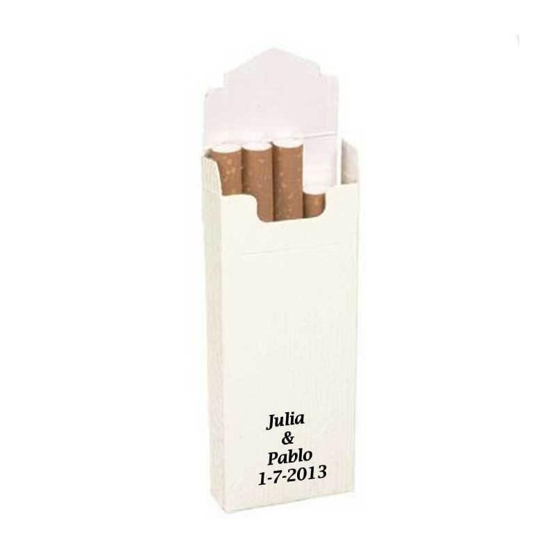 Cajetillas Tabaco Blancas Cajetillas para Tabaco Bodas Detalles