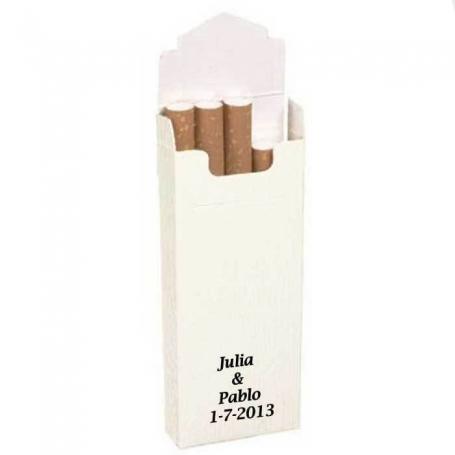 Cajetillas Tabaco Blancas