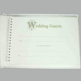 Books to Sign at Weddings