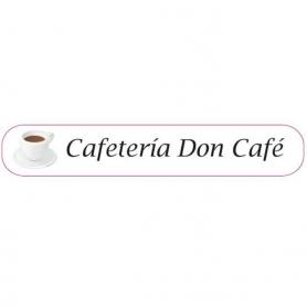 tenerife Pegatinas cafe en Canarias
