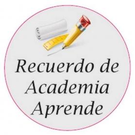 Pegatina Colegio Estudio