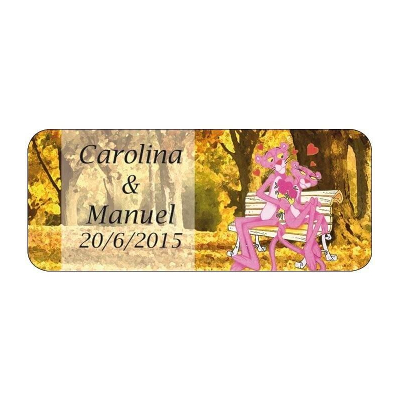 Custom Tags Pink Panther