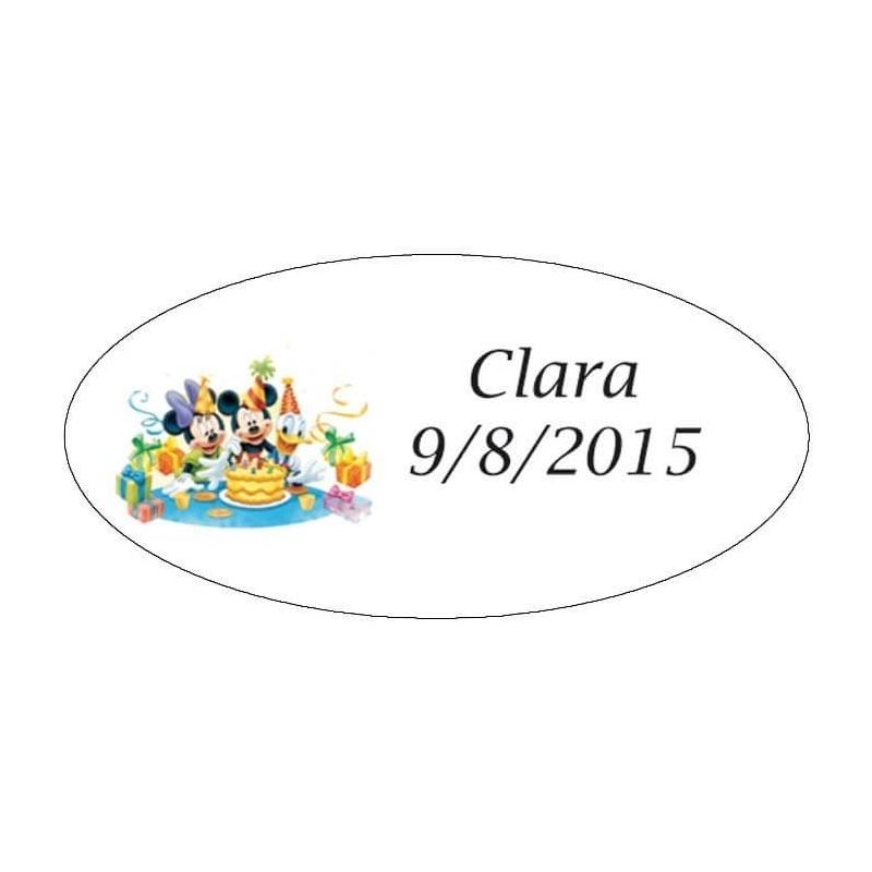 tenerife Etiquetas Infantiles Mickey en Canarias