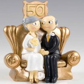 Figuras para Tartas de Boda de Oro Figuras Tarta 25 y 50