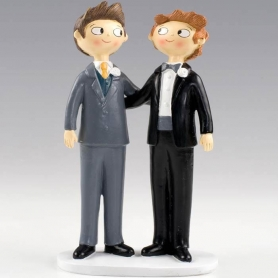 Figuras para Tartas Boda Gay  Figuras Tarta Gays y Lesbianas