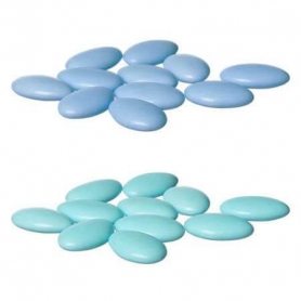 Peladillas de Chocolate Azul