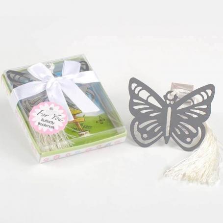 Marcapáginas Mariposa Originales y Utiles Detalles Boda Mujer
