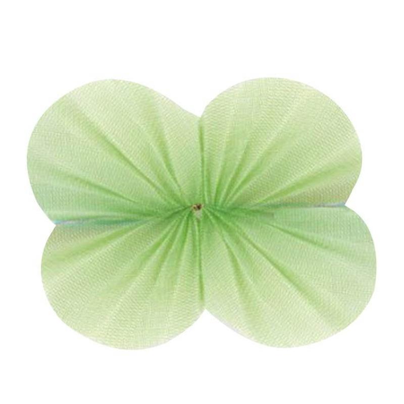 Tul Net Verde  Papel y Cintas Decorativas