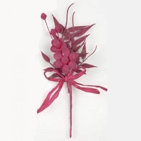Pic Cristalino Flores de Papel y Broches para Bodas Accesorios