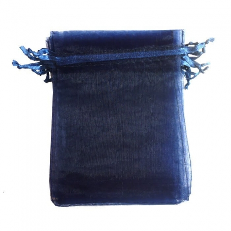 Bolsa de organza para detalles azul marino 15 x 20  Bolsas de