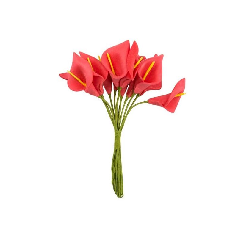 Lirios de Papel  Flores de Papel y Broches para Bodas