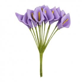 Flores de Papel Lirio  Flores de Papel y Broches para Bodas