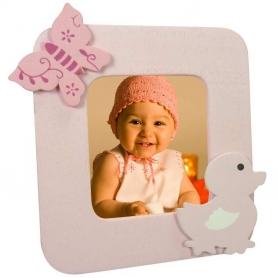 Portafotos Madera Bebé