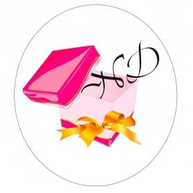 Pegatinas con tu Logo  Etiquetas Regalitos 0,07€