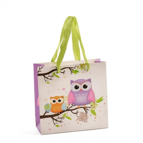 Small Owls Gift Bag