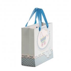 Bolsa de Regalo Azul  Bolsas Envoltorios Originales 0,44€