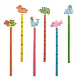 Lápices de Madera Infantiles  Lápiz Regalitos 0,36€