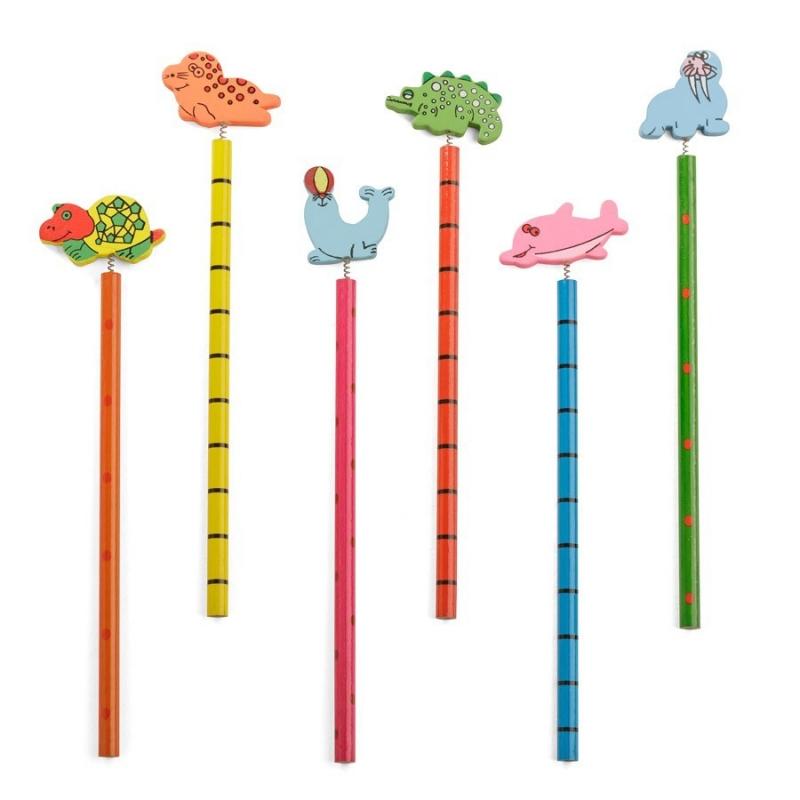 Lápices de Madera Infantiles  Lápiz