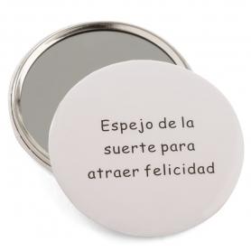 Espejo bolsillo redondos for Espejos originales baratos