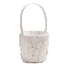 Cesta Flores Boda  Cojines, bouquet y cestas para Arras y