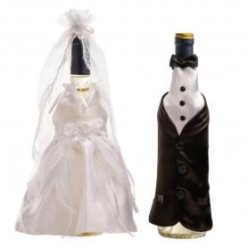 Vestidos para Botellas de Boda  Decoraciones Boda Detalles Boda