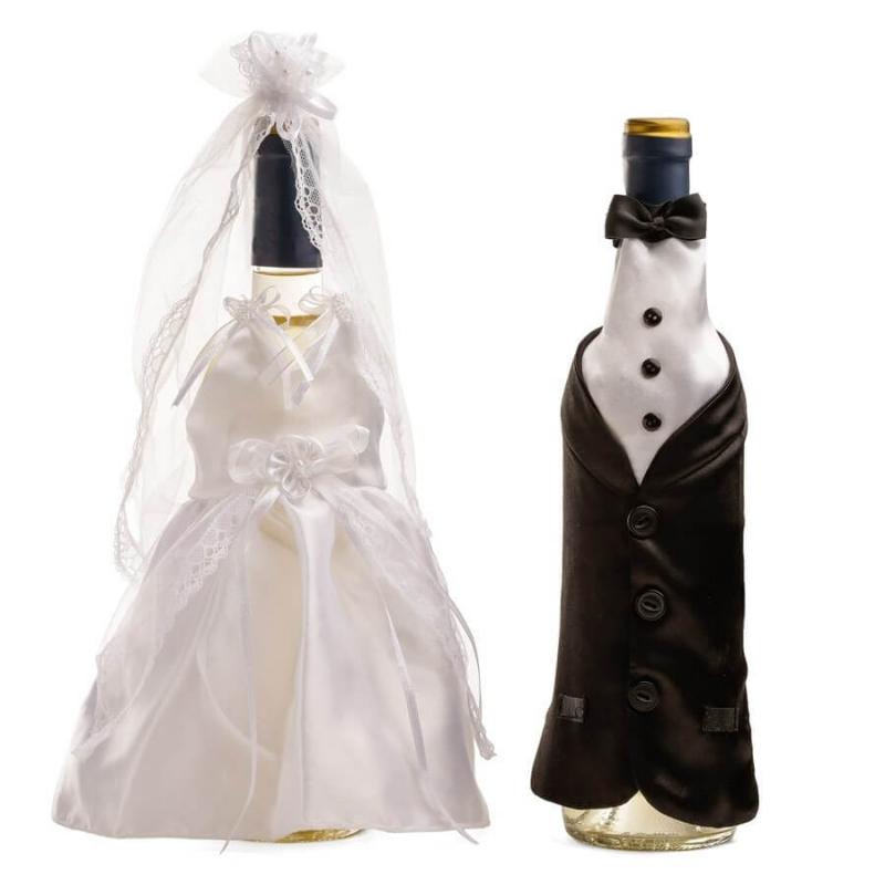 Vestidos para Botellas de Boda  Decoraciones Boda