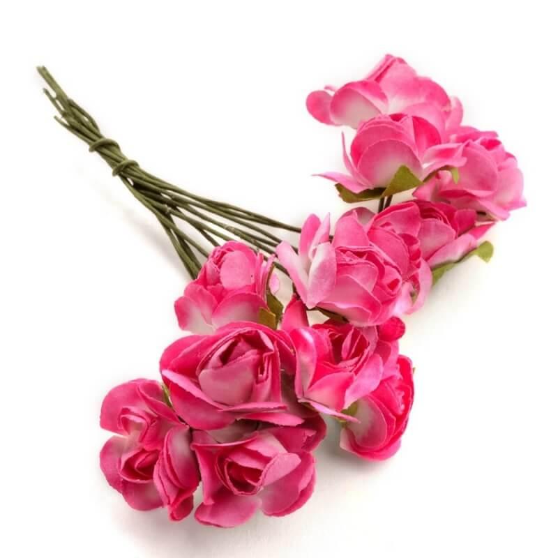 Flores Papel Decoración  Flores de Papel y Broches para Bodas