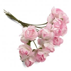 Flores de Papel Adornos  Flores de Papel y Broches para Bodas
