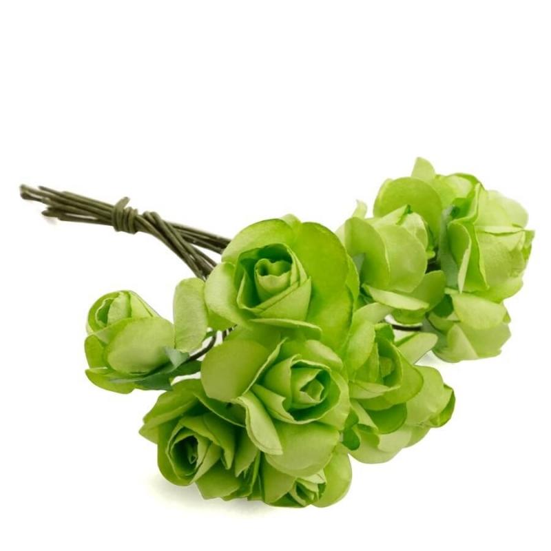 Flor Decorar Regalo  Flores de Papel y Broches para Bodas
