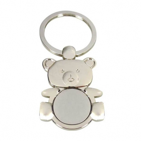 Christening Bear Keychain