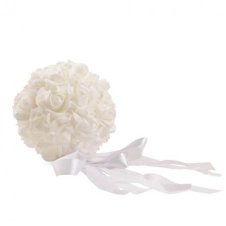 Bouquet Blanco Alfileres de bisuteria Alfileres Novia
