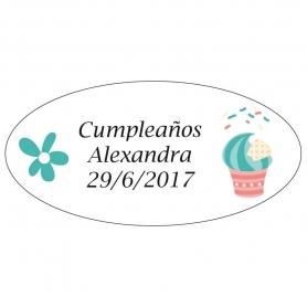 Etiquetas Adhesivas Cumpleaños