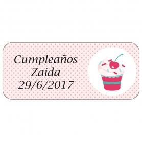 Etiqueta de Cumpleaños  Etiquetas