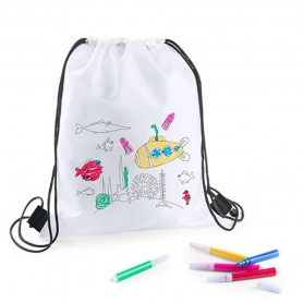 Coloring Backpack