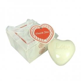Jabón con Forma de Corazón
