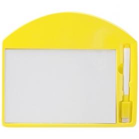 Pizarra para Rotulador Color: azul, rojo, amarillo Pizarra