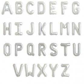 Globos Letras Letra:: a, b, c, d, e, f, g, h, i, j, k, l, m, n