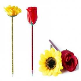 Bolígrafo con Flor