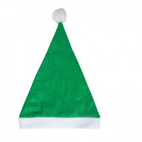 Gorro Papá Noel Barato Color: rojo, verde, naranja, negro, azul