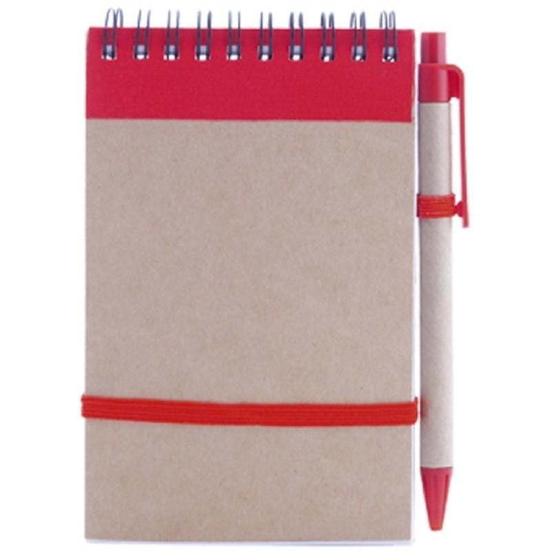 Bolígrafo y Libreta Color: amarillo, azul, negro, rojo, verde
