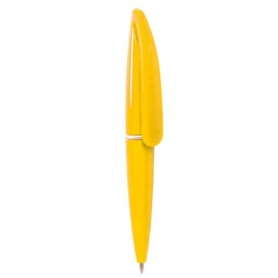 Bolígrafos de Colores Color: amarillo, azul, blanco, naranja
